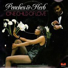 7inch PEACHES & HERBone child of love HOLLAND 1980 EX (S0002)