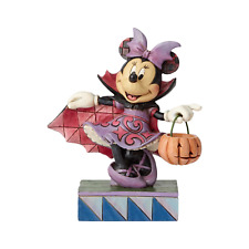 Jim Shore Disney Traditions Violet Vampire Minnie Mouse 6000949 Halloween 2019