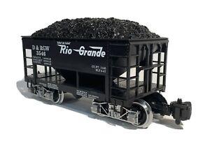MDC Roundhouse 4162 D&RGW ORE Car, US Güterwagen, ähnlich LGB, Piko, Bachmann