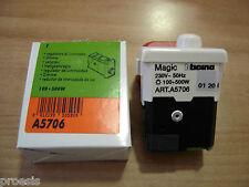 BTICINO A5706 Magic Matix TT originale regolatore luminosità dimmer 100 500W