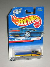 Hot Wheels 1998 #650 First Editions 23 of 40 Solar Eagle III Yellow Blue 18842