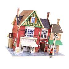 1:24 Diy Miniatures Dollhouse Tailor Shop Furniture Kit Birthday Xmas Gifts