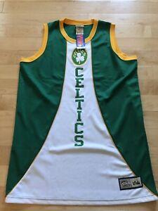 Boston Celtics Vintage Hardwood Classic Sewn Jersey Majestic XLarge