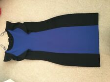 Ladies Size 12 Black Short Sleeve Dress