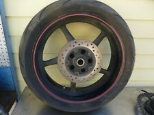 Rear wheel with tire R6S Yamaha  r6 03 04 05 06 07 08 09 #U18