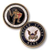 US Navy USN Armor of GOD Challenge Coin Northwest Territorial Mint NEW NIP