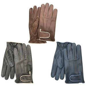 Top quality Cow crunch classic style driving gloves very comfort & slim fit 518