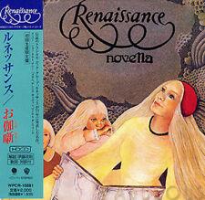 RENAISSANCE - NOVELLA ( MINI LP AUDIO CD with OBI )