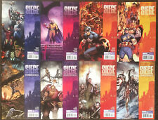 18 Siege #1 2 3 4 Embedded Battleworld Cabal Storming Asgard One-Shots Comic Lot