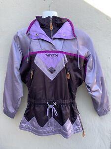 Vintage Nevica FS16 Womens Fuchsia Pink Frontline ski Jacket sz 8