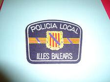 insigne tissu police-patch