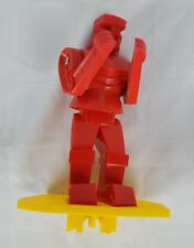 2001 Rockem Sockem Robots Red Rocker Replacement Robot Toy Figure Mattel