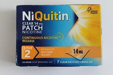 NiQuitin Clear 14mg Patch Nicotine - Step 2 - 7 Patches