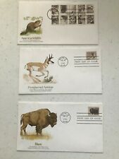 US FDC FIRST DAY COVERS WILDLIFE 1981 SET OF 11  BY FLEETWOOD