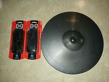 Roland CY-15 MG Metallic Grey Ride Cymbal V-Drum & Cables