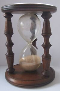 A Large Wooden Egg Timer