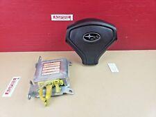 *2007-2008 Subaru Forester Driver Steering Wheel Air Bag Airbag W/ Module OEM