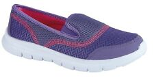 NEW LADIES LIGHTWEIGHT TWIN GUSSET LEISURE SHOE COMFORT SUMMER HOLIDAYS