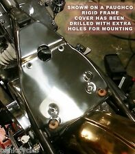 BATTERY OIL TANK FRAME COVER STAINLESS STEEL 1936-48 HARLEY RIGID BOBBER CHOPPER