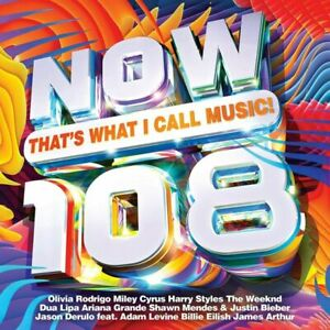 NOW THAT'S WHAT I CALL MUSIC 108 (Now 108) 2 CD (Released 26/3/2021)