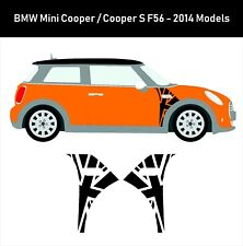 Marca nueva Custom BMW Mini Cooper S F56 techo Stickers Vinyl Decals un Paneles