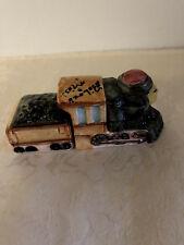Vintage Train Salt & Pepper Shakers - Biloxi - Japan