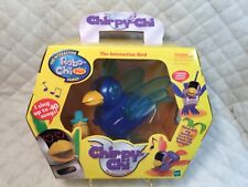 2001 Tiger Electronics Chirpy-Chi Interactive Bird Robot Blue Sings 40 Songs NEW