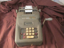 ANTIQUE REMINGTON RAND TEN KEY CALCULATOR PARTS REPAIR RETRO DISPLAY PROP