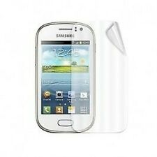 Samsung Galaxy Fame Clear Silicone Case / Screen Protector / In-Car Charger