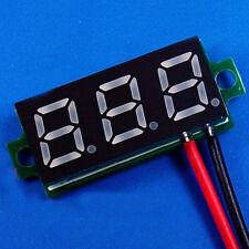"""Rot DC 0.28"""" 3.5-30V 12V LED Mini Digital Voltmeter Spannungsanzeige Panel"""
