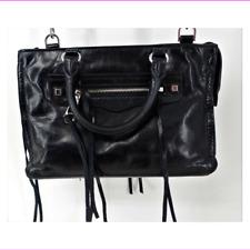 f910e1a0f938 Rebecca Minkoff Leather Micro Regan Satchel Women's Bag 100% Authentic