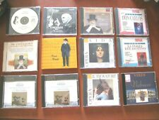 VERDI  lotto 13 CD -( elenco) - VEDI IN NEGOZIO  REPARTO CD CLASSICA E LIRICA