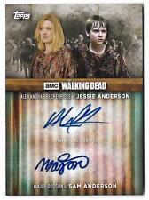 The Walking Dead Season 6 Alexandra Breckenridge & Dodson Dual Autograph #2/10