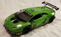 Kinsmart - 1:36 Scale Model Lamborghini Huracan LP620-2 Green (BBKT5389DGN)