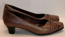 Aravon Brown Pumps Eleanor Bronze Metallic by New Balance Size 11 B Nice!