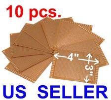 10 Pcs 3x47x9cm Prototyping Pcb Printed Circuit Board Prototype Breadboard