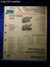 Sony service manual CCD tr415e tr425e tr515e trv46e trv36e trv26e (#6575)