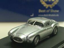 Bos Maserati a6gcs Berlinetta, plata - 87036 - 1/87