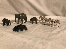 1950s Britains Zoo 7 piece set NICE pieces