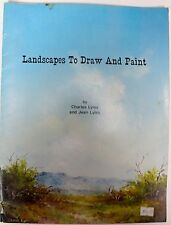 Landscapes to Draw & Paint by Charles & Jean Lyles 1979