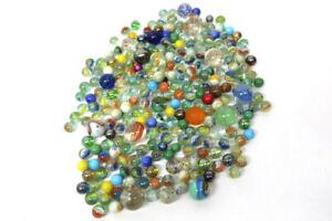 Alte Glasmurmeln 1,5 Kg Lauscha usw. von 15 mm bis 29 mm