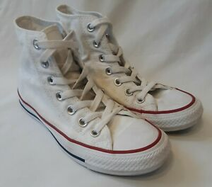 Converse All Star High Tops White - size 3.5