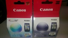 New Canon (PG 210XL/ CL 211XL) Extra High Yield Ink Cartridge Set