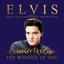 ELVIS PRESLEY (THE WONDER OF YOU - PHILHARMONIC ORCHESTRA CD SEALED + FREE POST)