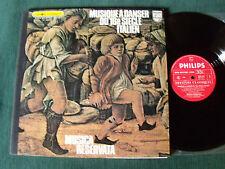 MUSICA RESERVATA: Musique à danser du 16e s italien LP GATEFOLD PHILIPS 6500102