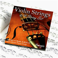 More details for violin string set 4/4 concert tuning - pro series quality by adagio rrp £10.99