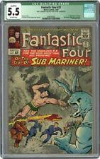 QUALIFIED Fantastic Four 33 Sub Mariner CGC 5.5 1st app Appearance Attuma Marvel