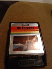 NO ESCAPE by Imagic for Atari 2600 ▪︎CARTRIDGE ONLY ▪︎FREE SHIPPING ▪︎