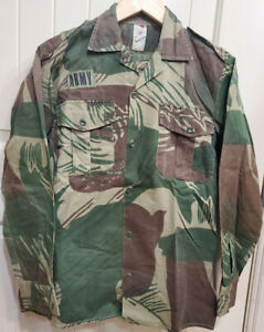 Rare!  Original Rhodesian Brush-Stroke Camouflage Camo Shirt and Trousers