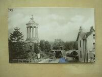 VINTAGE POSTCARD BURNS MONUMENT AND AULD BRIG O'DOON - ALLOWAY - SCOTLAND